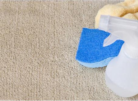 Чому не слід використовути побутову хімію в чистці килима?