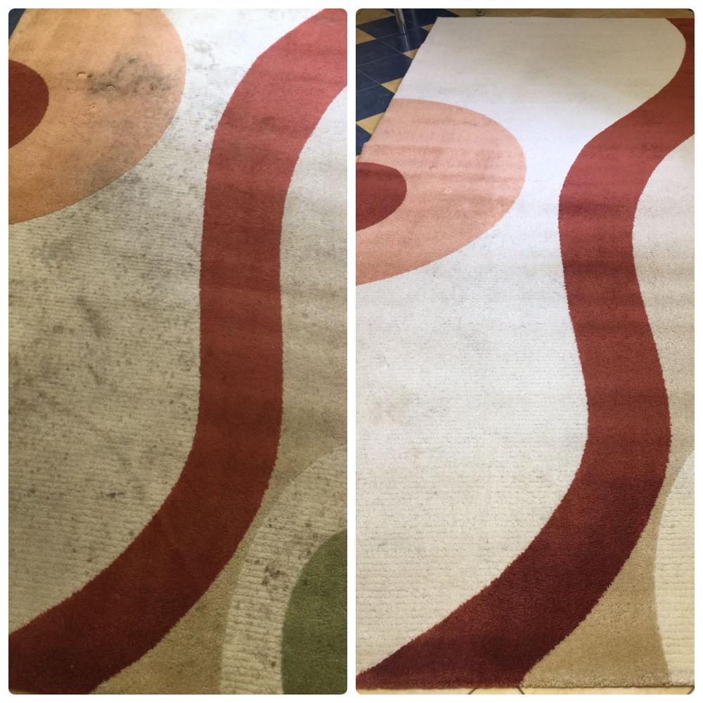 Результати прання килиму в пральні КилимКо