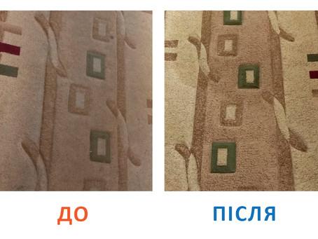 Чому професіонали чистять килим краще?