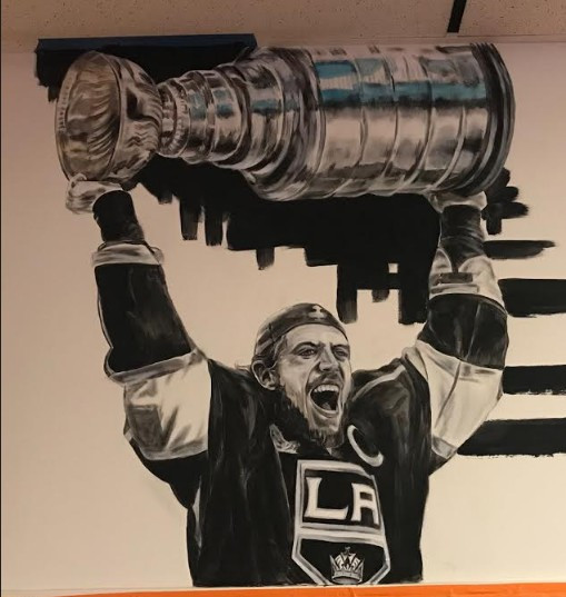Kopitar with the cup