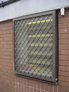 Beta Naco glass louvres fly insect screen flyscreen security stainless steel mesh