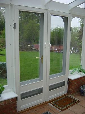 double door doors conservatory double action domestic house