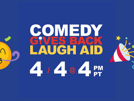 Comedy Gives Back Laugh Aid: 1 Year Anniversary