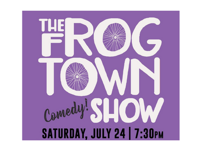 Frogtown Comedy Shows Benefit Comedy Gives Back