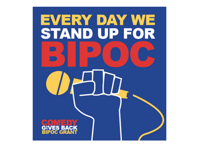 Comedy Gives Back Aims to Issue 400 BIPOC Grants in February