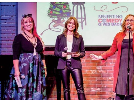 Comedy Gives Back Featured in Variety