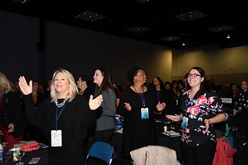 Standing ovation for speaker, ICFW