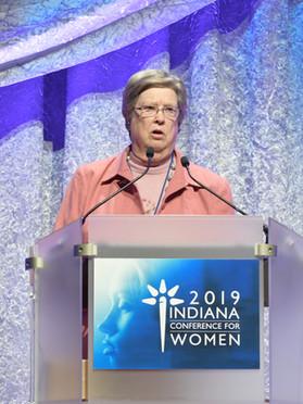 Hon. Sarah Evans Barker, 2019
