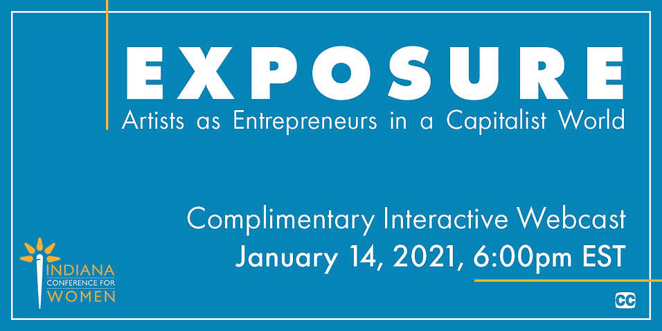 Promotional graphic for Exposure Webcast
