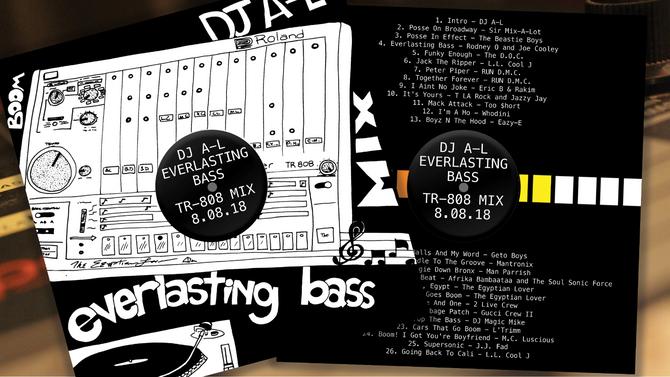 Everlasting Bass TR-808 Mix By DJ A-L