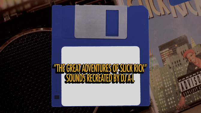 """Great Adventures Of Slick Rick"" Sounds Recreated On Vintage Mirage Sampler By DJ A-L"