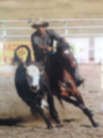 Phil Attard and Glencoe Heartbeat Campdrafting in the early years