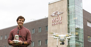 Angel Hawk Featured in MSU Denver Newspaper