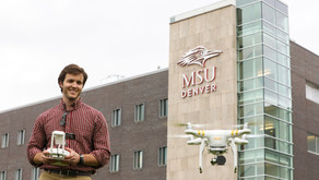 Angel Hawk Featured in MSU Denver Newspaper