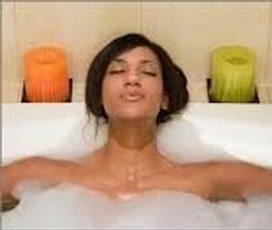 """""""I can soak the day away!"""""""