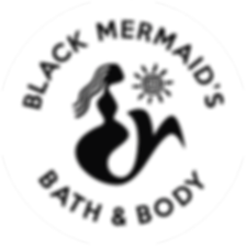 Black Mermaid B&B Logo (white circle)-01