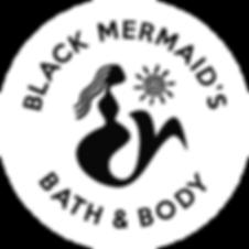 Black Mermaid B&B Logo (white circle)-01