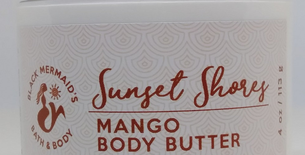 Sunset Shores - Mango Body Butters