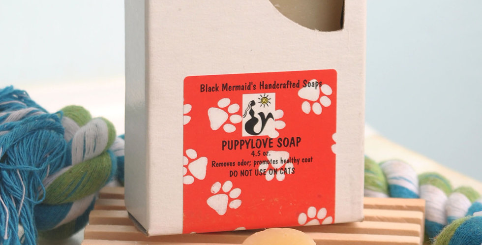 Barks 'n Bubbles Puppy Love Dog Soap WS