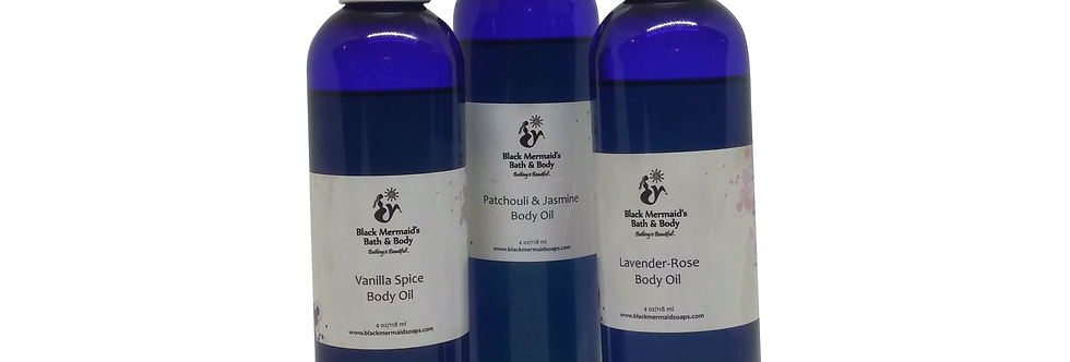 Body & Massage Oil 8 oz.