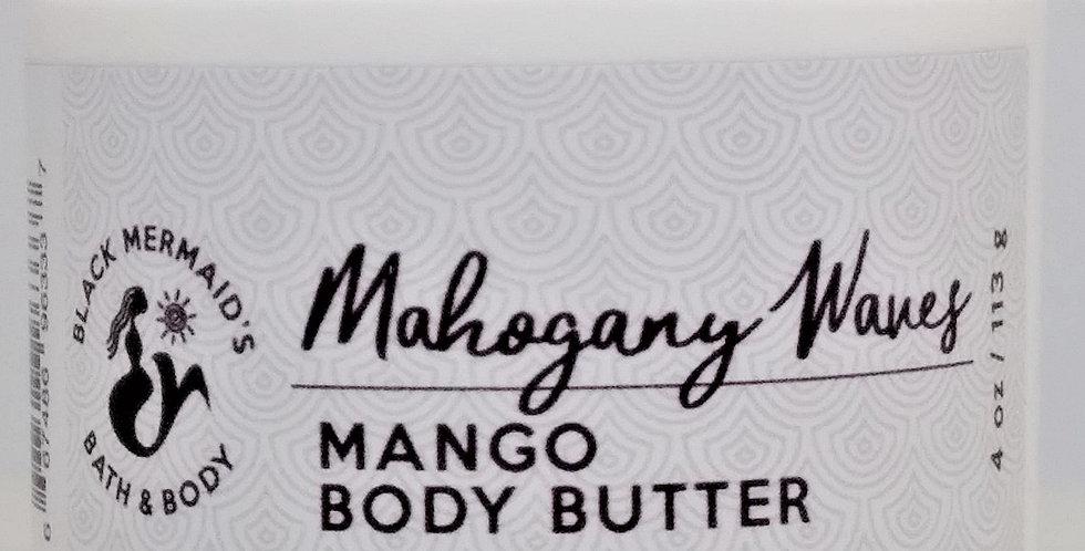 Mahogany Waves - Mango Body Butter