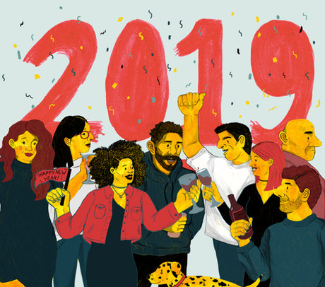 Happy New Year! & 2018 Playlist