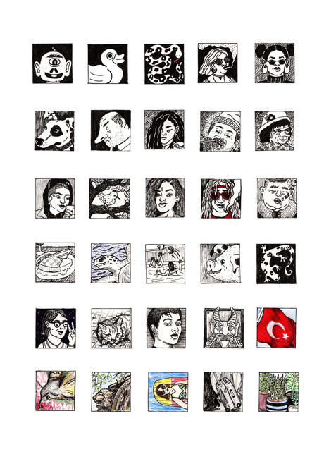 #DrawingADay competition with the House of Illustration