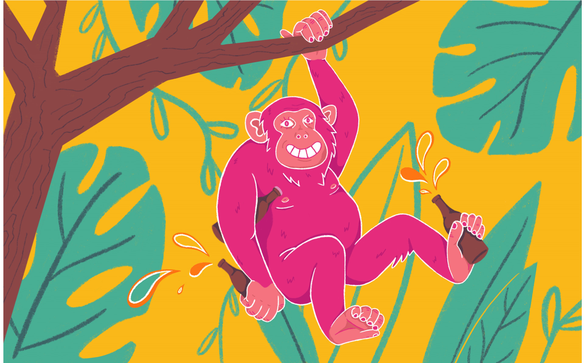 'Monkey Business' Glug X House of Cans Competition