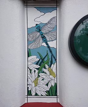 Dragonfly (Mural 2020)