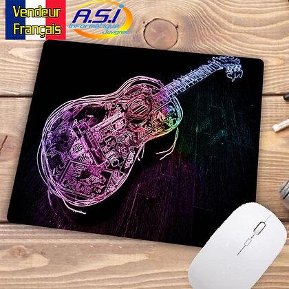 Tapis de souris Musicien dessin Guitare  Musique Guitariste