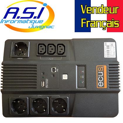 Onduleur Ecus Power 1AF 650Va
