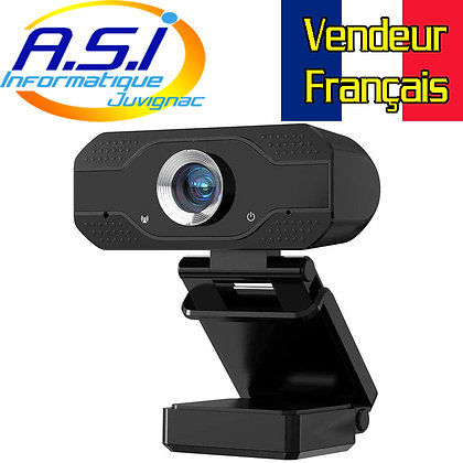 Webcam Full HD 1080P PC / MAC pr Ordinateur de Bureau / Portable USB VENDEUR FR