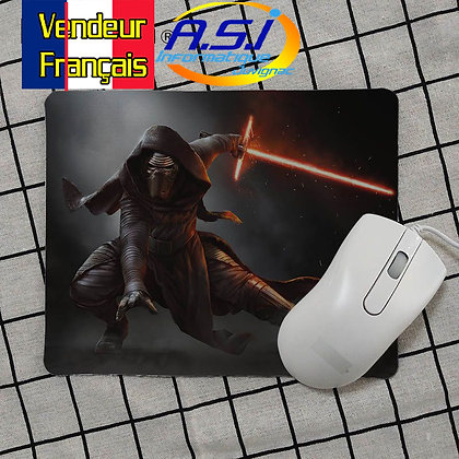 Tapis de souris Gaming gamer Star Wars Kylo Ren Starwars Sabre Laser