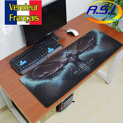 Grand Tapis de souris Gamer Gaming ordinateur jeu Diablo XXL VENDEUR FRA