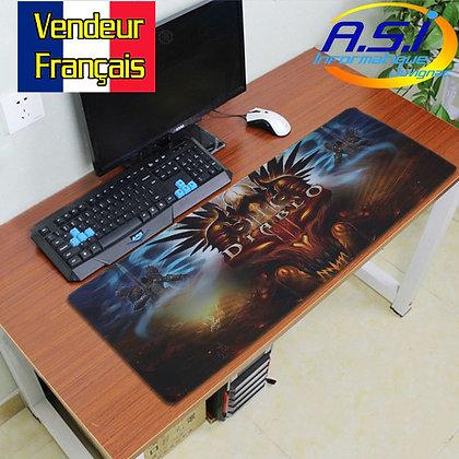 Grand Tapis de souris Gamer Gaming ordinateur jeu Diablo XL VENDEUR FRA