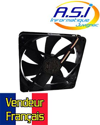 Ventilateur pour Boîtier 140 mm 14 Cm - 29 dB 3 PIN Noir VENDEUR FRANÇAIS
