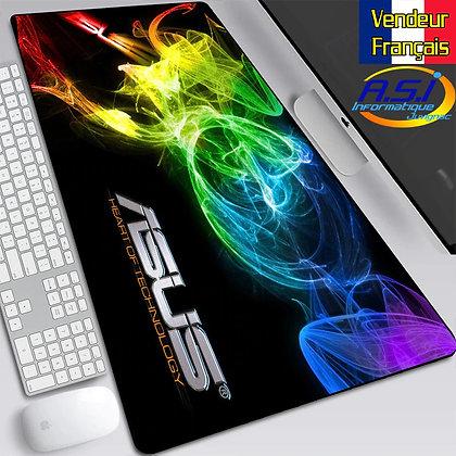 Grand Tapis de souris XL Asus multicolore Gamer Gaming Joueur Jeu PC M