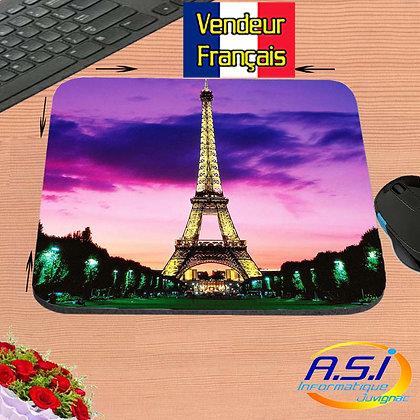 Tapis de souris Tour Eiffel Paris Trocadero VENDEUR FRANÇAIS