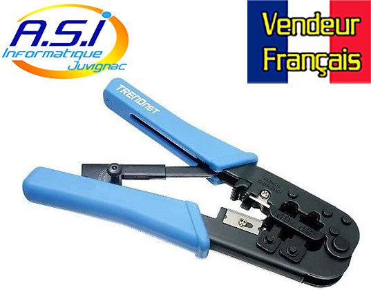 Pince à sertir /Couper/ Bande cable RJ-11/RJ-45 VENDEUR FRANÇAIS