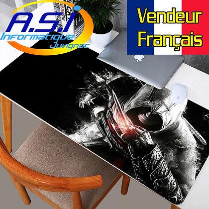 Grand Tapis de souris Gaming Jeu Assassin's Creed Gamer XL Noir VENDEUR FRANÇAIS