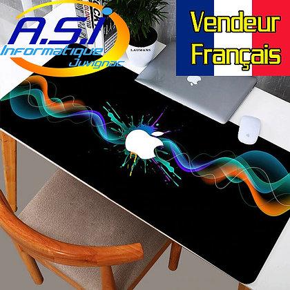 Tapis de souris Gaming XL Grand Format noir multicolore gamer VENDEUR FRANCAIS