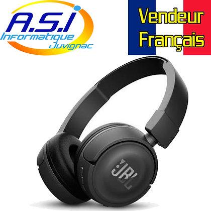 Casque Bluetooth JBL pliable noir T460