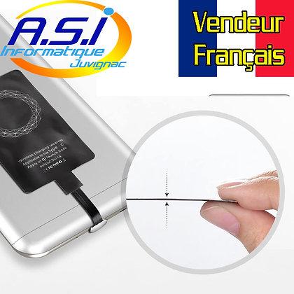 Récepteur Sans-fil USB-C QI prour Chargeur à induction