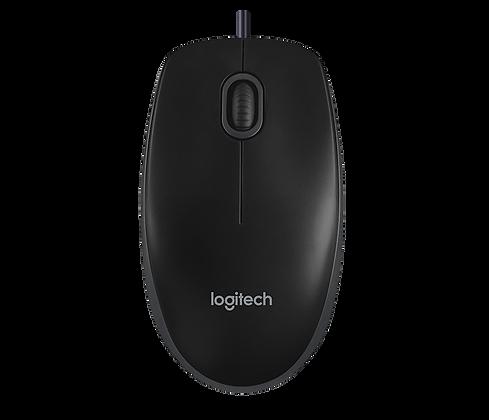Souris Logitech Noire B100 à Fil USB VENDEUR FRANCAIS