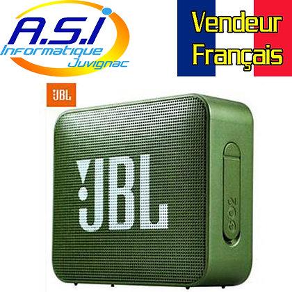 Mini Enceinte Bluetooth portable JBL GO 2 vert Kaki