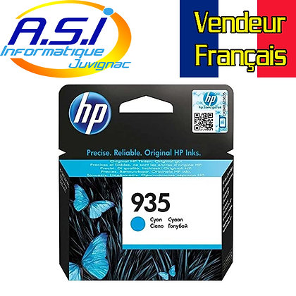 Cartouche d'encre HP 935 Cyan (bleu)