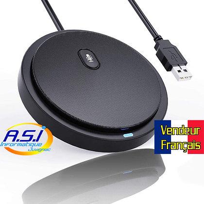 Micro ordinateur pour Visioconférence Télétravail Reunion VoIP Cours en ligne