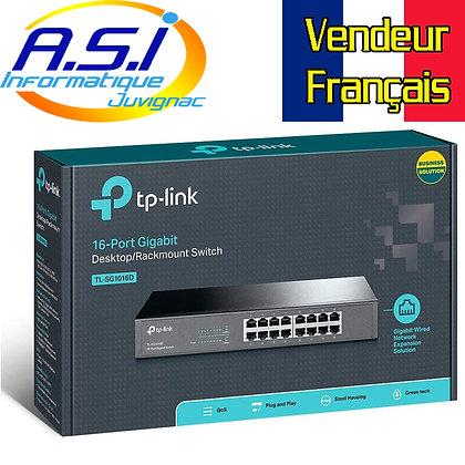 Switch de bureau 16 ports TP-Link RJ45 10/100 Mbps