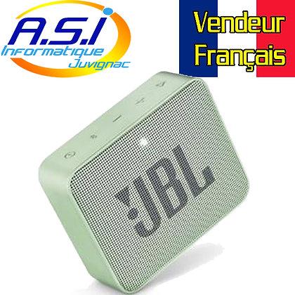 Mini Enceinte Bluetooth portable JBL GO 2  - Étanche pour piscine & plage IPX7