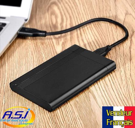 USB 3.0 Boîtiers alu de disques Durs 2.5 sata Vendeur Français